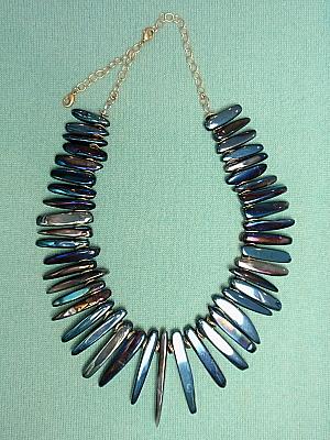 #LE424 Titanium Quartz Necklace