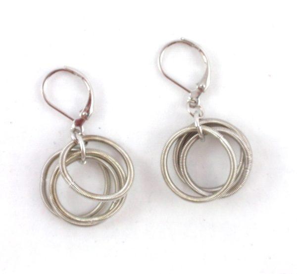 4a2b65194 E448S Stainless steel hoop earrings – The Island Pearl